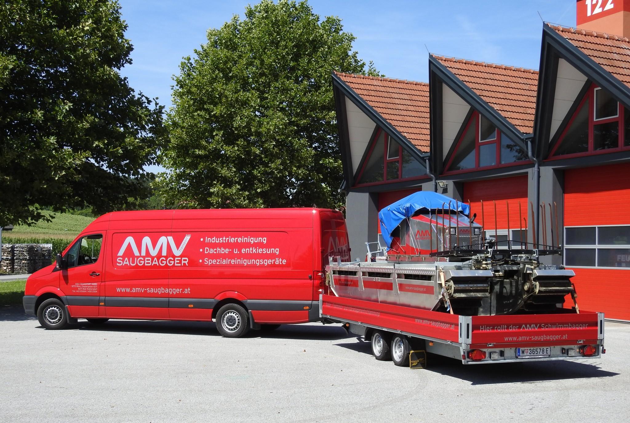 AMV Saugbagger und Schwimmbagger